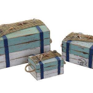 Caja madera Marina 3 tamaños