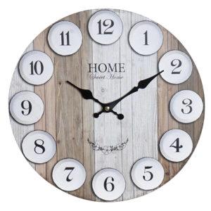 Reloj de pared círculos
