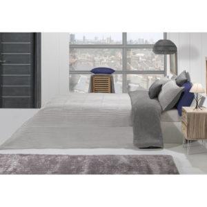 Edredón comforter lines gris
