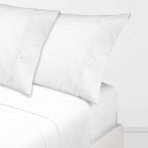 Juego de sábanas blanco ENZO