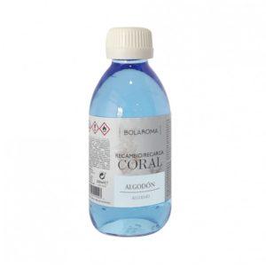 Recambio Ambientador Coral fragancia Algodón
