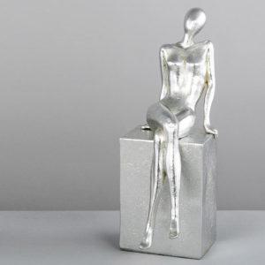 Figura Lady plata