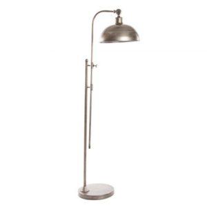 Lámpara de pie metal envejecido