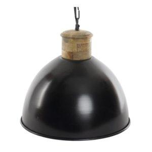 Lámpara de techo metal negro