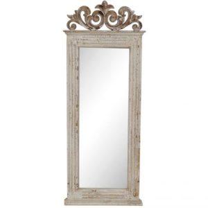 Espejo madera blanco envejecido