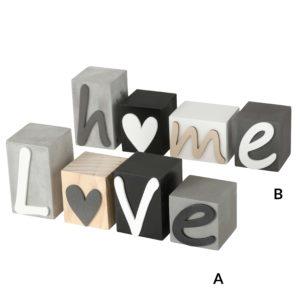 Decoración madera Love Home