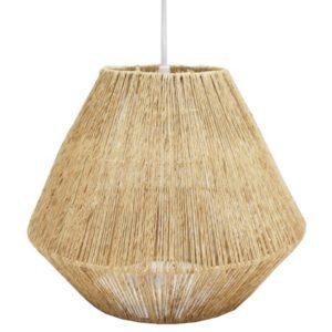 Lámpara de techo jute natural