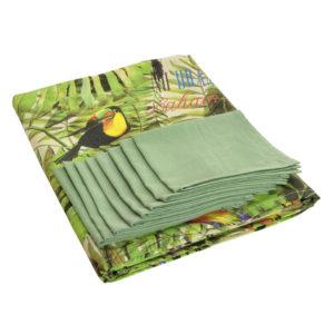 Mantel confeccionado tropical