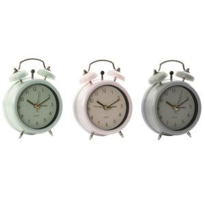 Reloj despertador metal 3 colores