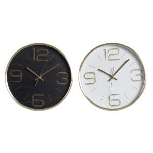 Reloj de pared alumino 2 colores