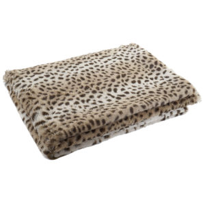 Plaid estampado leopardo