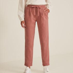 Pantalón jogging felpa rosa