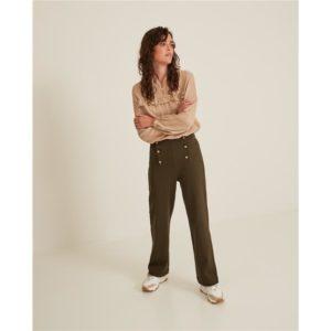 Pantalón ancho cintura alta 2 colores