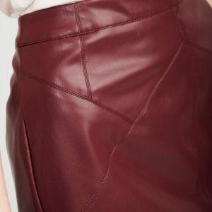 Falda mini con cremallera 2 colores