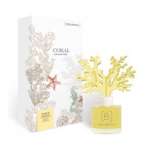 Ambientador difusor coral Flor de Vainilla