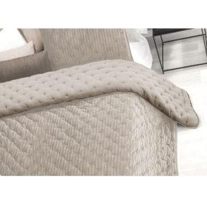Edredón comforter stick beige