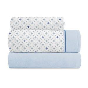 Juego de sábanas coralina trendy azul