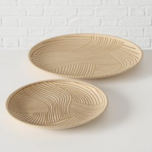 Centro de mesa madera natural 2 tamaños