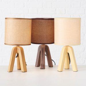 Lámpara de sobremesa terracota 3 colores
