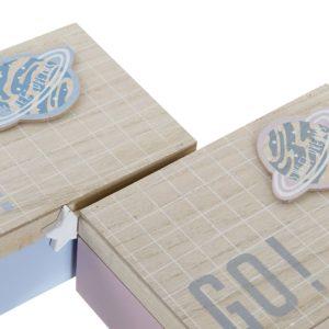 Cajas madera con tapa