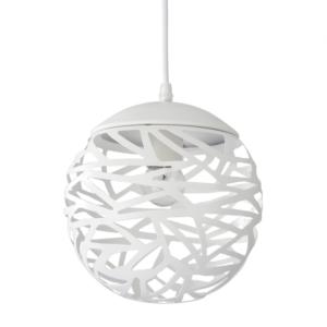 Lámpara de techo metal esfera calada