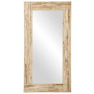 Espejo rústico madera natural