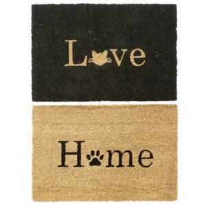Felpudos fibra coco love home