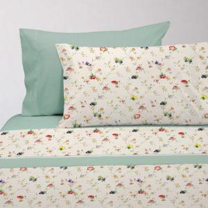 Juego de sábanas estampado floral