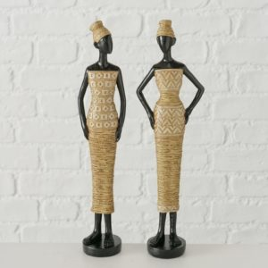 Figuras mujeres africanas