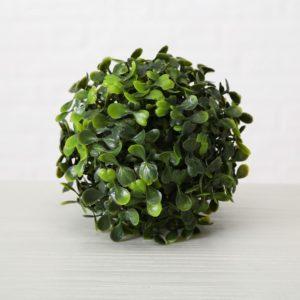 Bola Boj verde artificial Ø12cm
