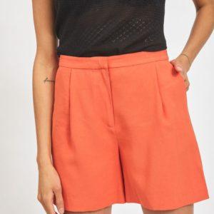 Pantalón corto naranja