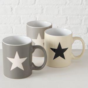 Taza Mug Estrella 3 colores